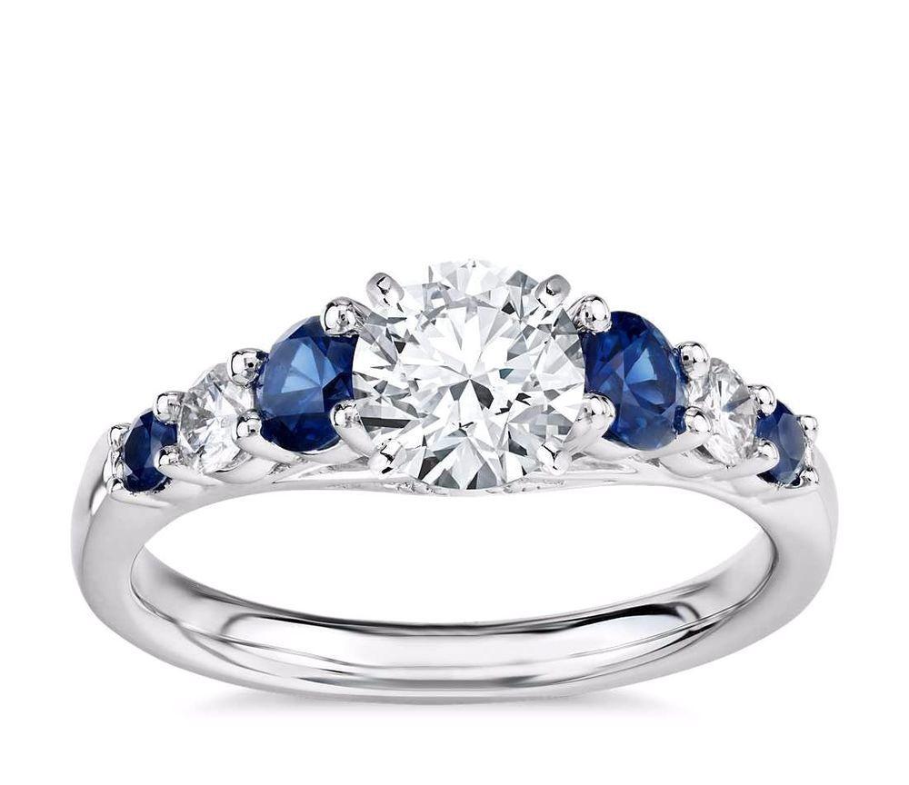 39+ White sapphire wedding sets info