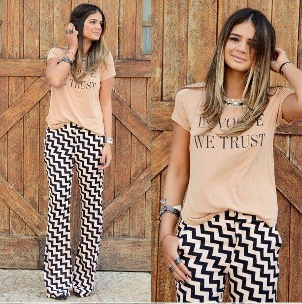 Thassia Naves amo a combinação. ..