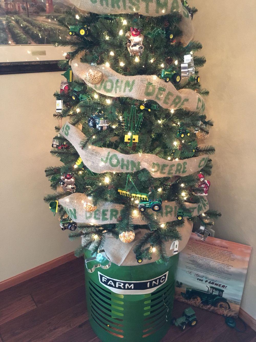 John Deere Christmas Tree   Crafts   Pinterest   Christmas tree ...