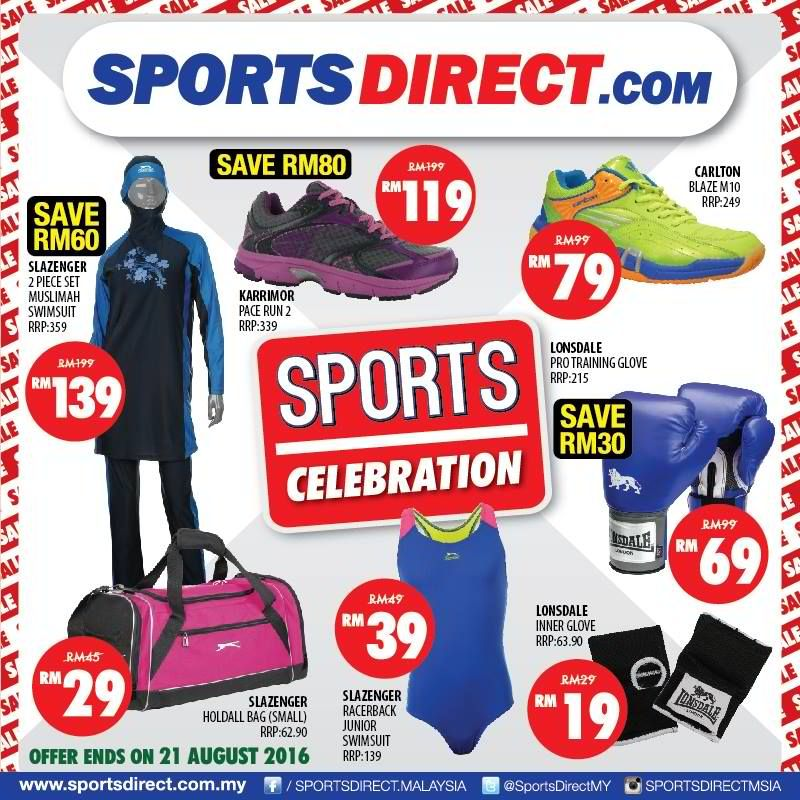 10 21 Aug 2016 Sport Direct Sports Celebration Sports Direct Sports Celebrities