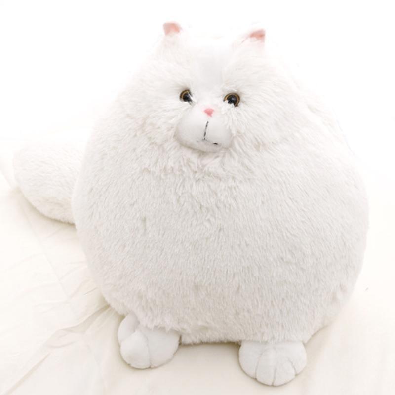 Fat Pet Persian Cat Plush Doll Pillow Plush Toys Soft Stuffed Cat Animal Kids