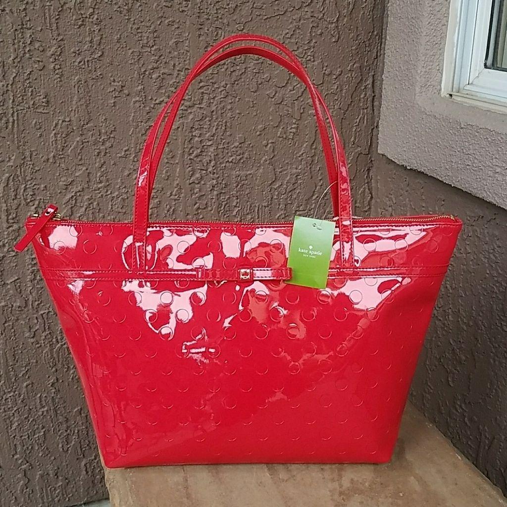Kate Spade Patton Red Bag. Sophie