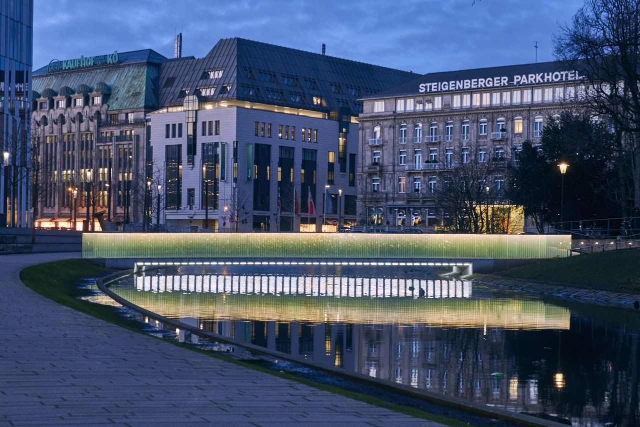 Steigenberger Parkhotel und Kaufhof an der Kö, Düsseldorf - Foto: T. Hopp