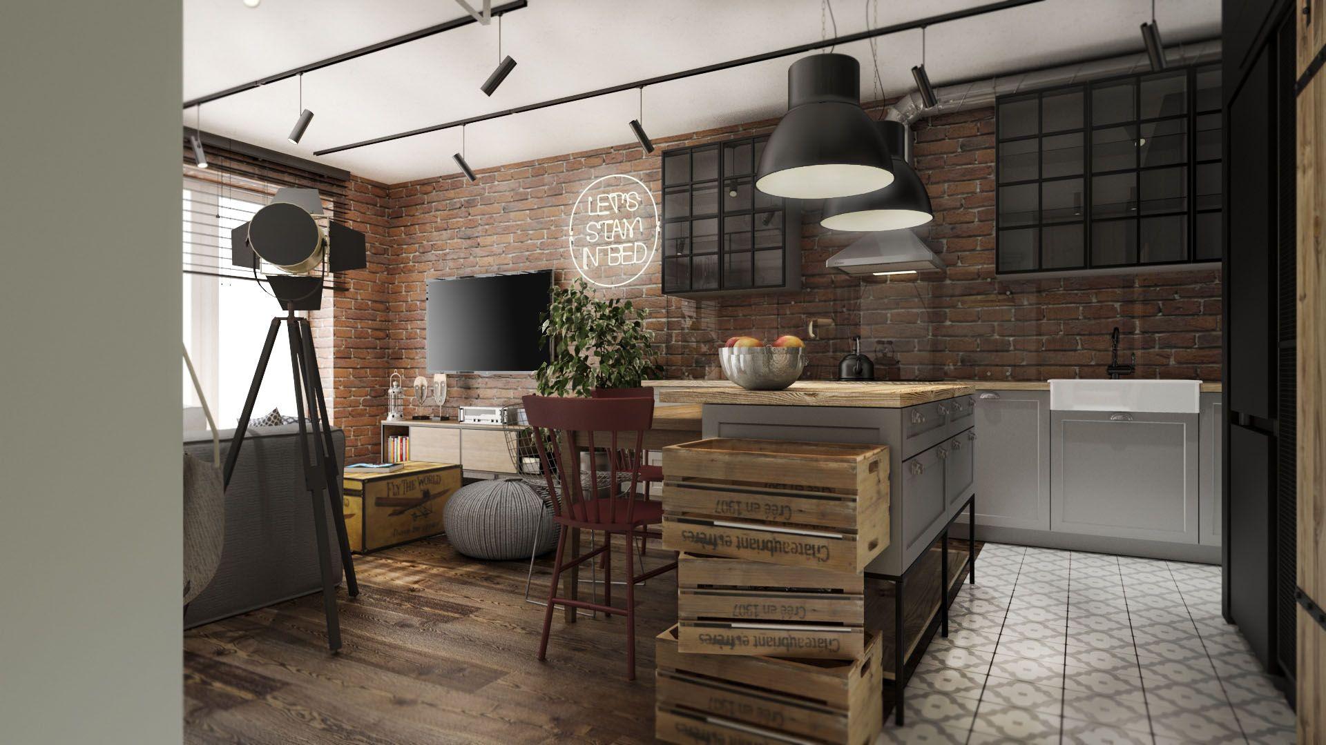 Kuchnia W Stylu Industrialnym Interior Design Interior Home Decor
