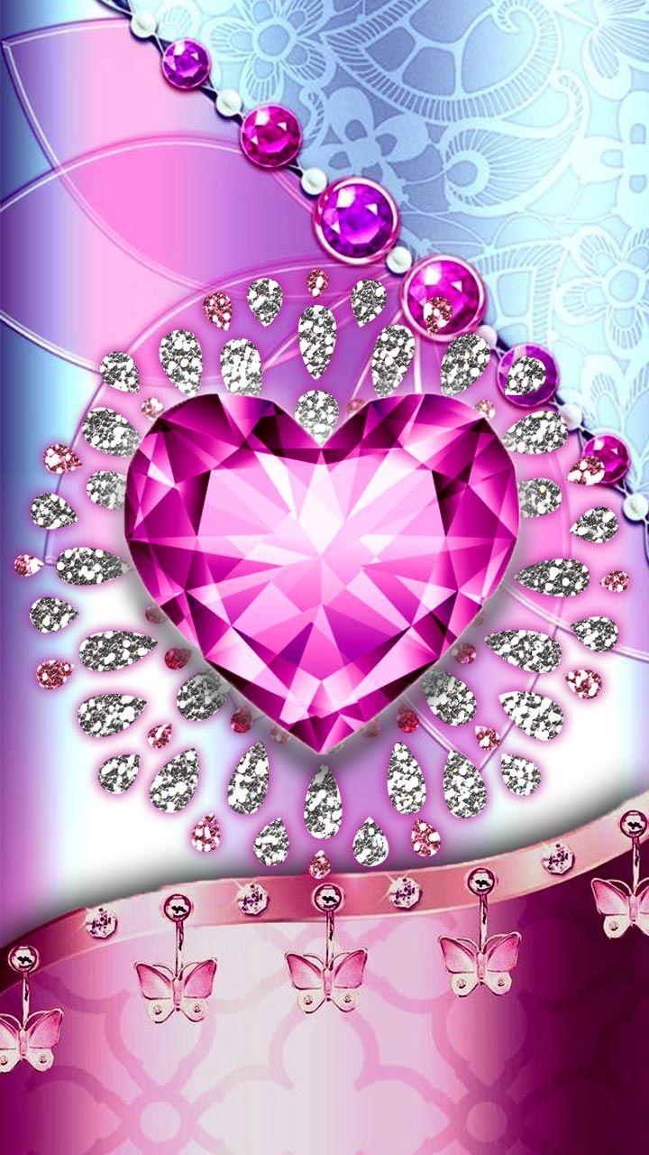 Whats More Luxury Than A Art In Diamonds Pink Diamond Heart Wallpaper Pink Glitter Wallpaper Pink Diamond Wallpaper Heart Wallpaper Iphone rose gold diamond pink pink