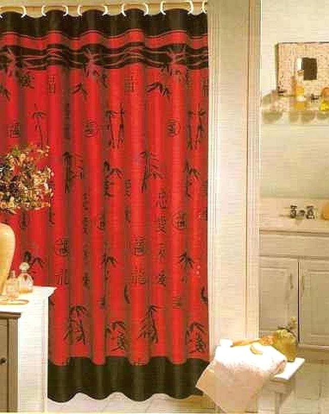 Red Bathroom Sets Red Shower Curtain Set Gallery Of Modern Red And