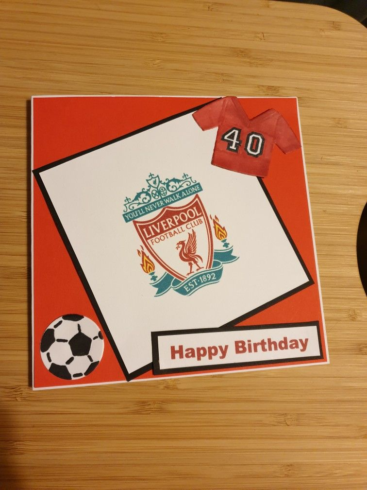 Liverpool Football Club Anfield Stadium 3d Birthday Card From Dormouse Cards Beautiful Greeting Cards Birthday Cards 3d Birthday Card