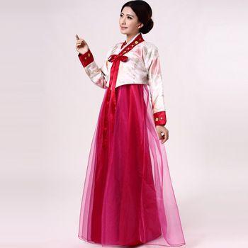 384dbfd2912bd Costume traditional korean hanbok dress women free shipping | Korean ...