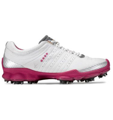 ECCO Women's Biom Golf Shoes - White/Beetroot, shoes for the new year...I think....