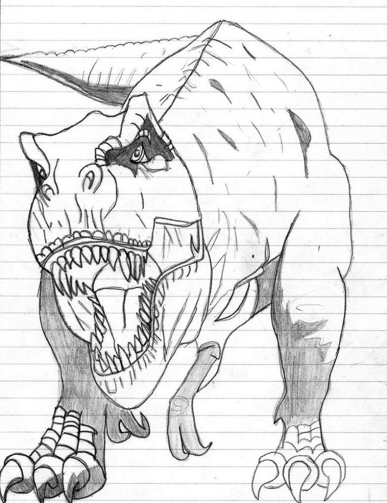 Free Printable Dinosaur Coloring Pages For Kids   Dinosaur ...