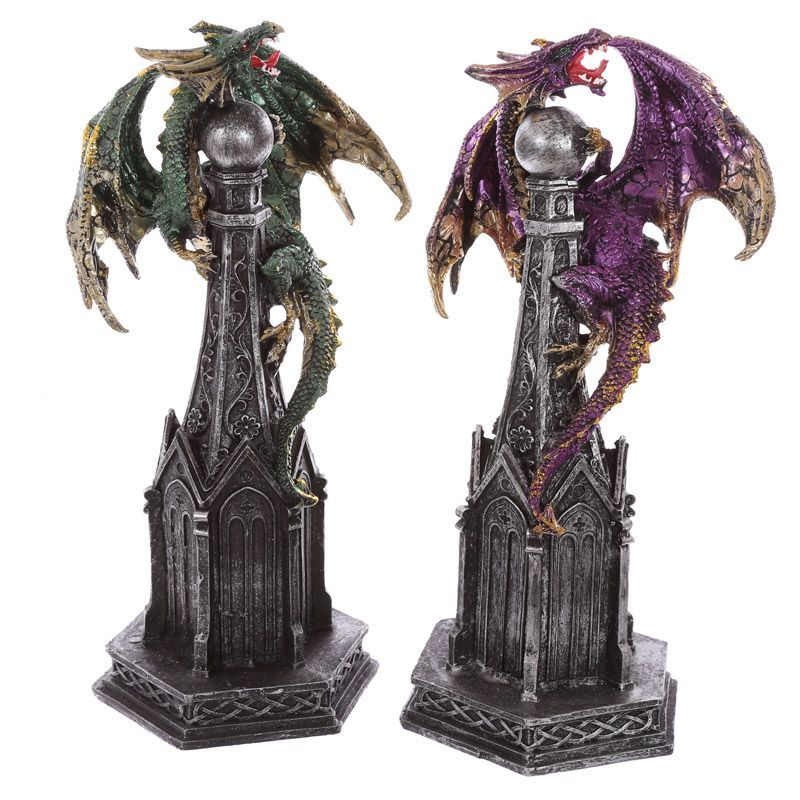 Gothic Spire Collectable Dragon Figurine Our fantasy and gothic dragon range are…