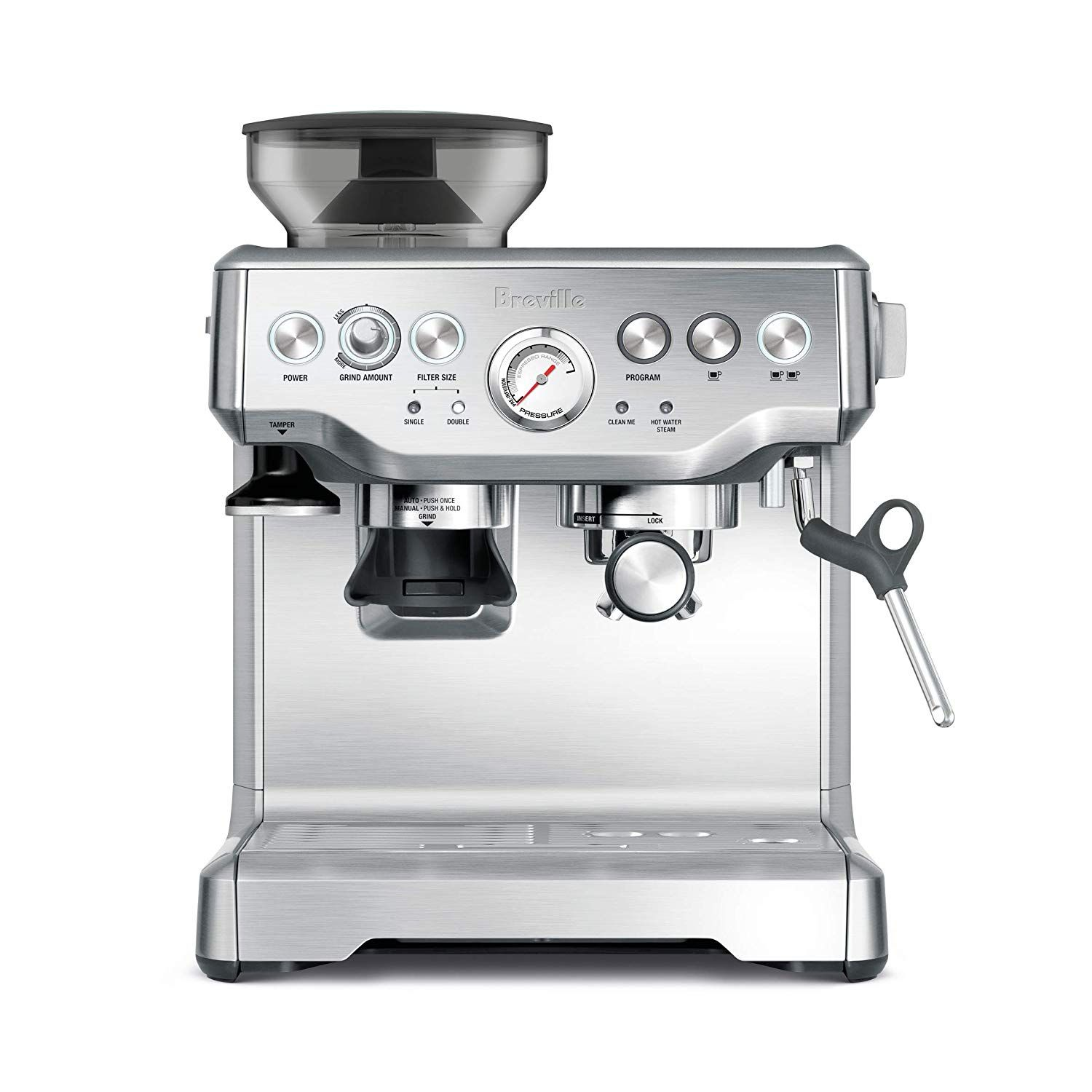 Breville Barista Express Espresso Machine Brushed Stainless Steel Bes870bss By Breville Breville Barista Express Espresso Breville