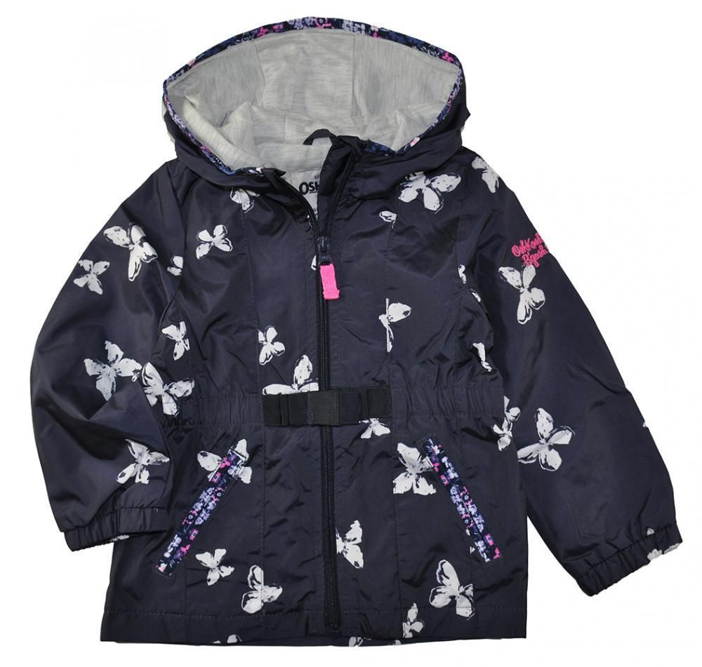 fe1b69379 Osh Kosh B Gosh Toddler Girls Spring Fall Transitional Jacket Size ...