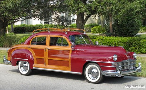 1947 Chrysler Windsor Town Country Sedan Chrysler Windsor