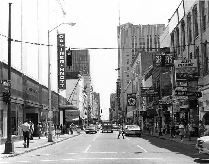 downtown nashville 1960s nashville nashville city nashville music city nashville. Black Bedroom Furniture Sets. Home Design Ideas