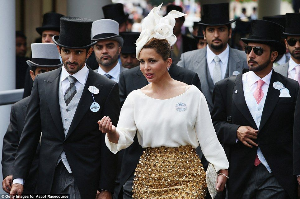 princess haya bint al hussein of jordan the wife of dubai