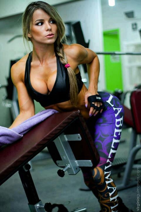 Mistake can busty women working out have