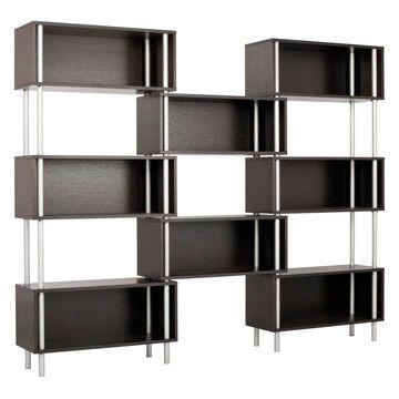 Good Chicago 8 Box Modern Storage Shelving   Graphite On Oak 1 Photo Gallery