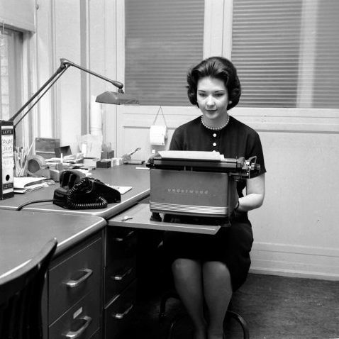 Image result for 1940's secretary