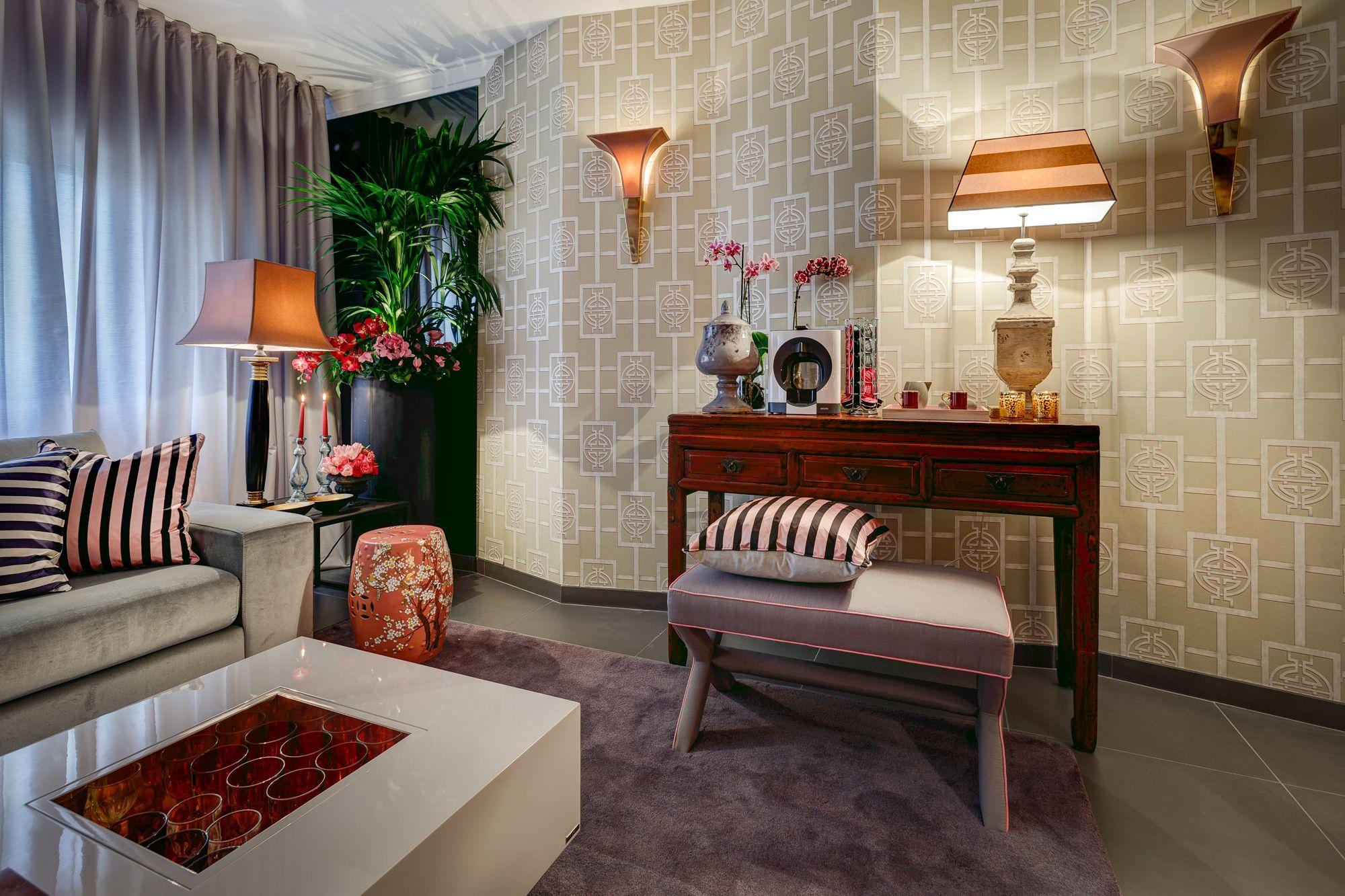 Arquiteto Miguel Da Cunha | Sala De Estar | Living Room | Wallpaper |  Striped Cushions Part 70