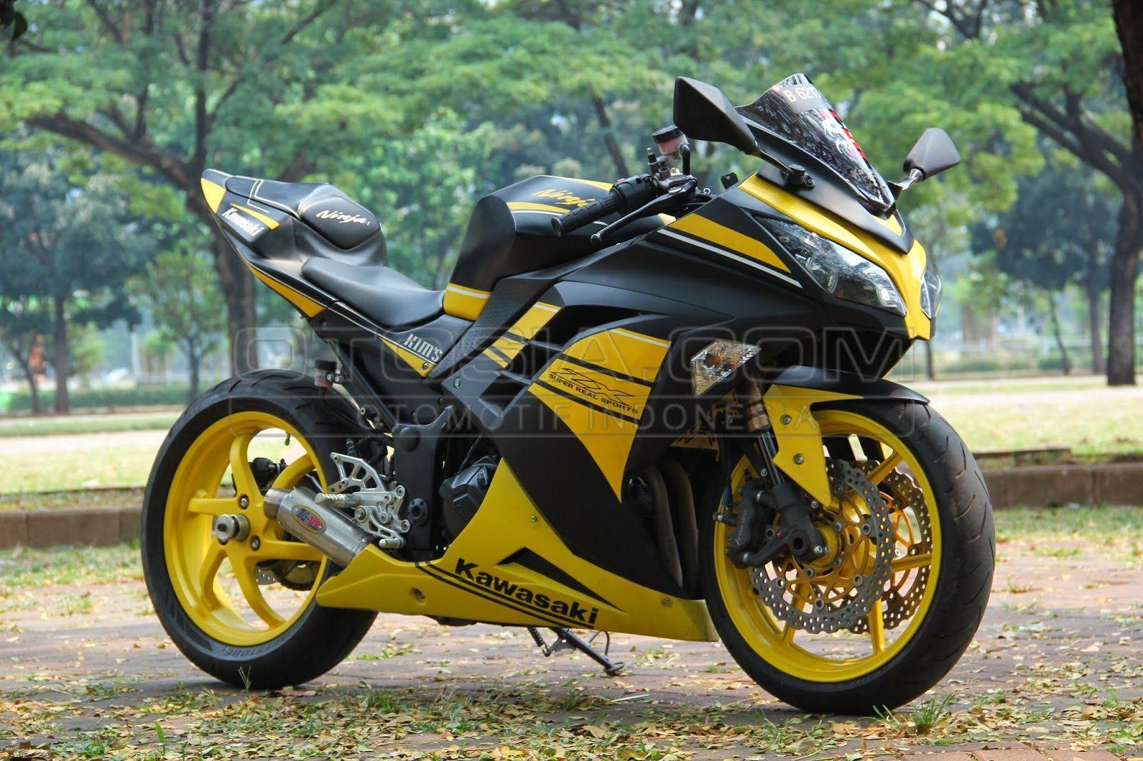 Modifikasi Motor Ninja Terbaru Kawasaki ninja 250r