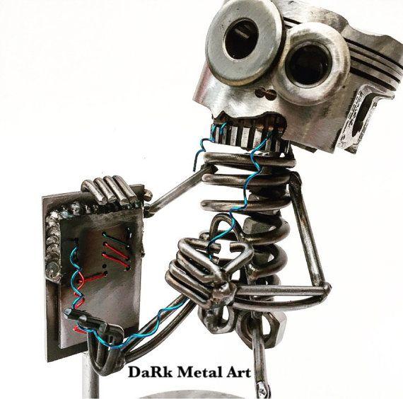 Bonez the Electrician by TheDaRkMetalArtStore on Etsy