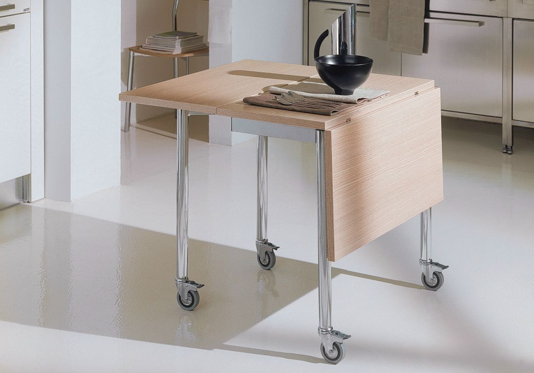 Pensez La Table Pliante Pour Une Cuisine Mobile Cuisine  # Table Pliante Style Brasserie