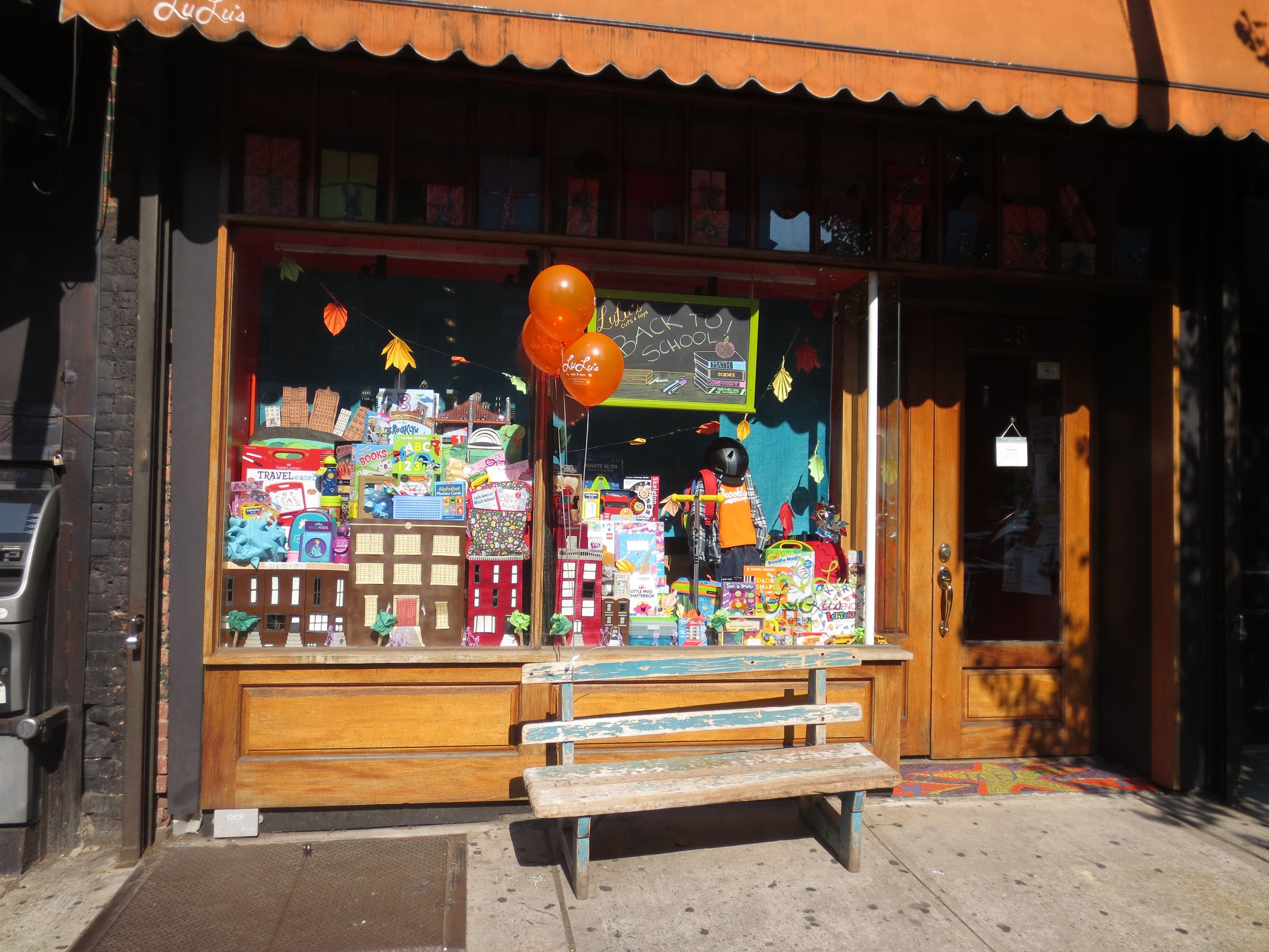 Our Storefront September 2014 Lulus Cuts And Toys Toy Store