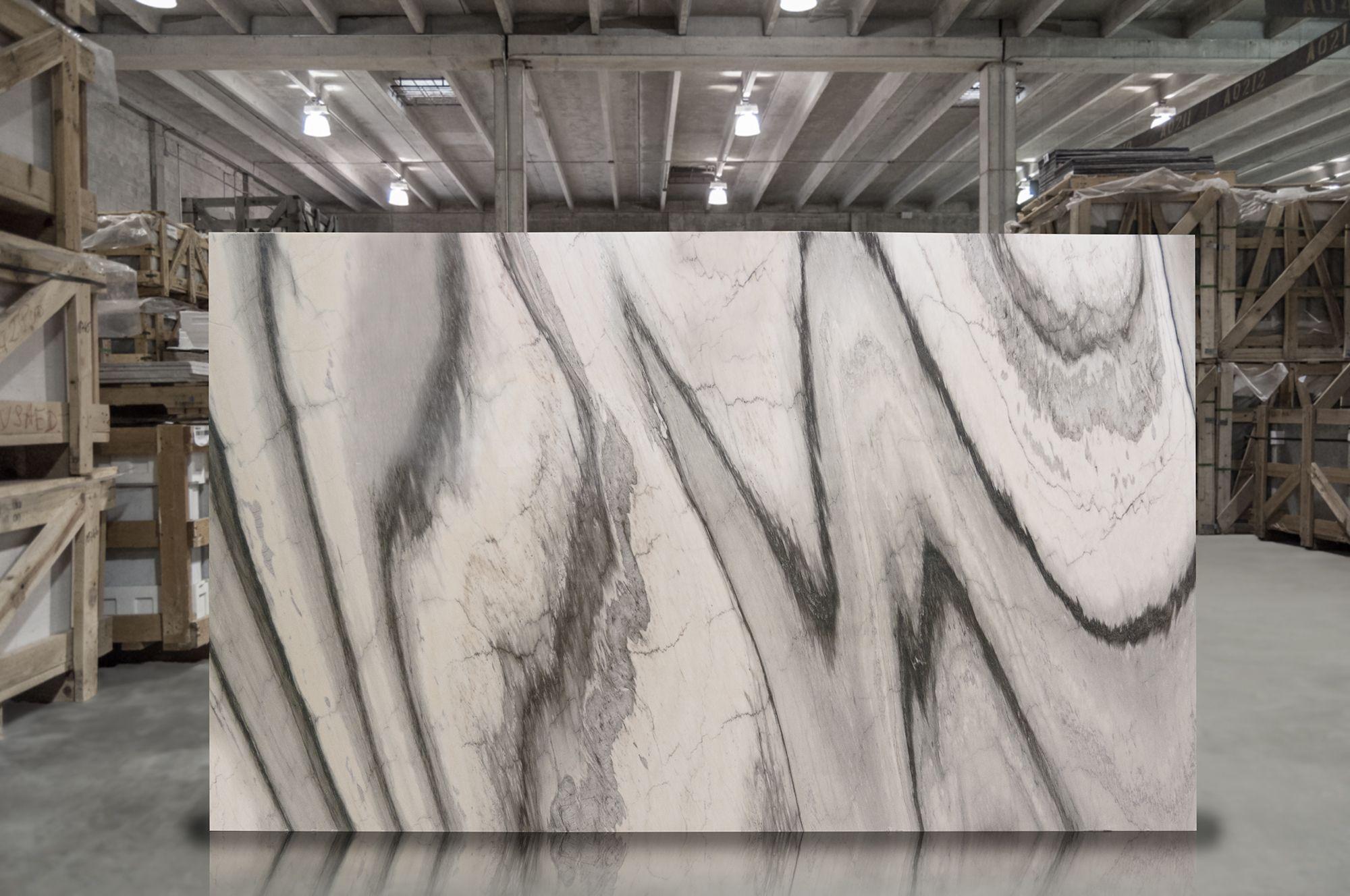 cipolino grigio polished marble slab #opustone #naturalstone
