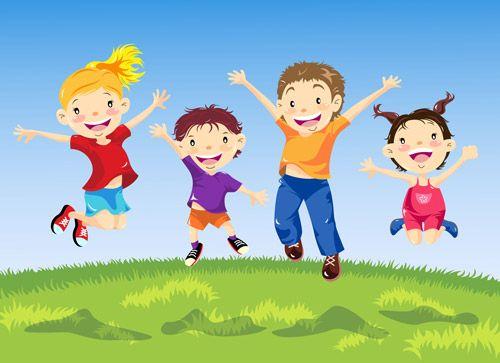 Картинки по запросу kids jumping