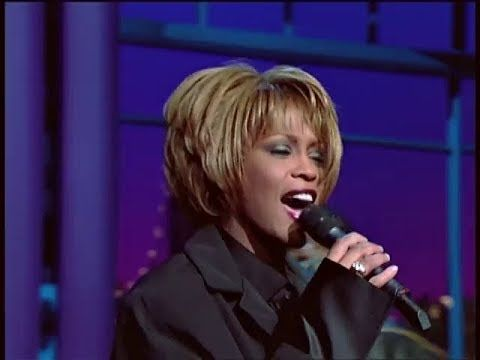 Whitney Houston - My Love Is Your Love (The Late Show with David Letterman, 1998) - YouTube