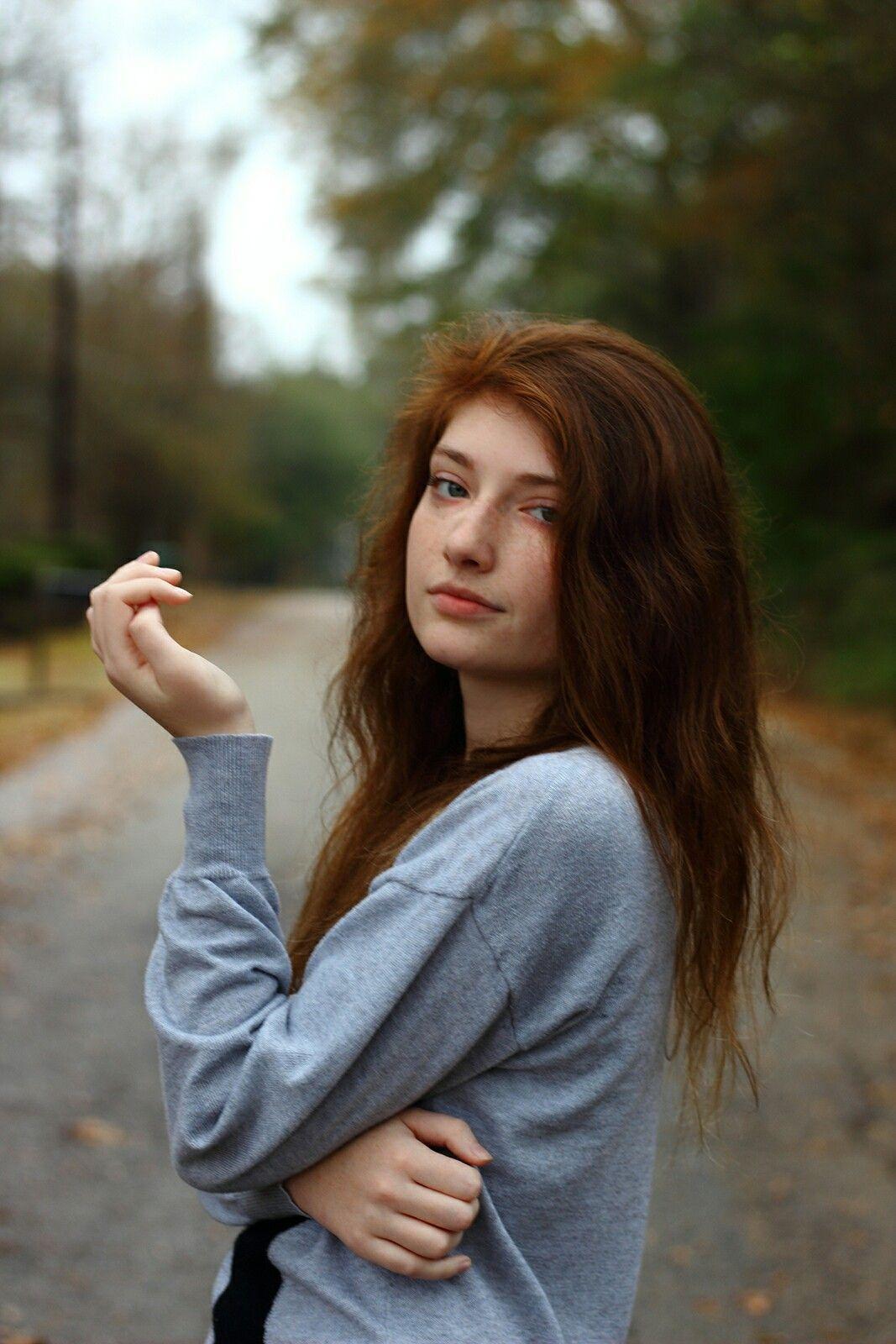 Teen road redhead gives good