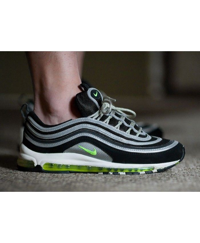 Nike Air Max 97 Black Green Trainers Bring Me A Comfortable Experience I Never Have Nike Air Max 97 Nike Air Max For Women Nike Women