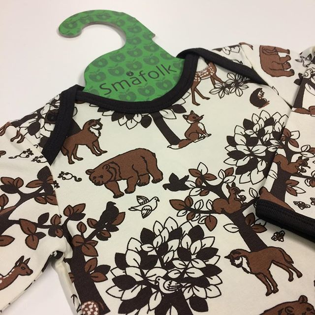FOREST print  #smafolk #småfolk #oekotex #baby #babyfashion #kids #kidsfashion #kinder #kindermode #아기옷 #스마포크