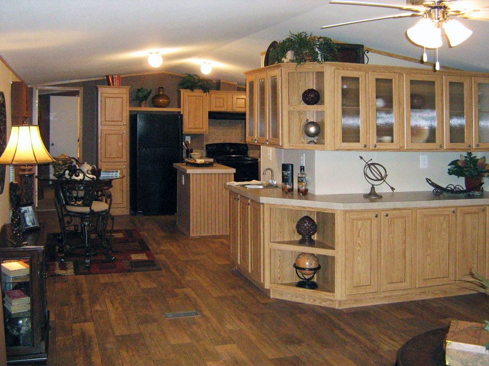 Decorated Single Wide Mobile Homes  Singlewide Mobile Homes From Mesmerizing Small Mobile Home Kitchen Designs 2018
