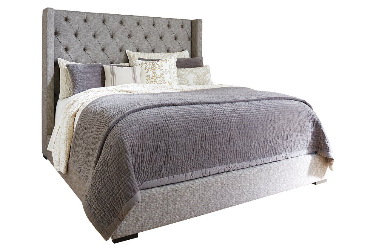 Sorinella Queen Upholstered Bed with 1 Large Storage