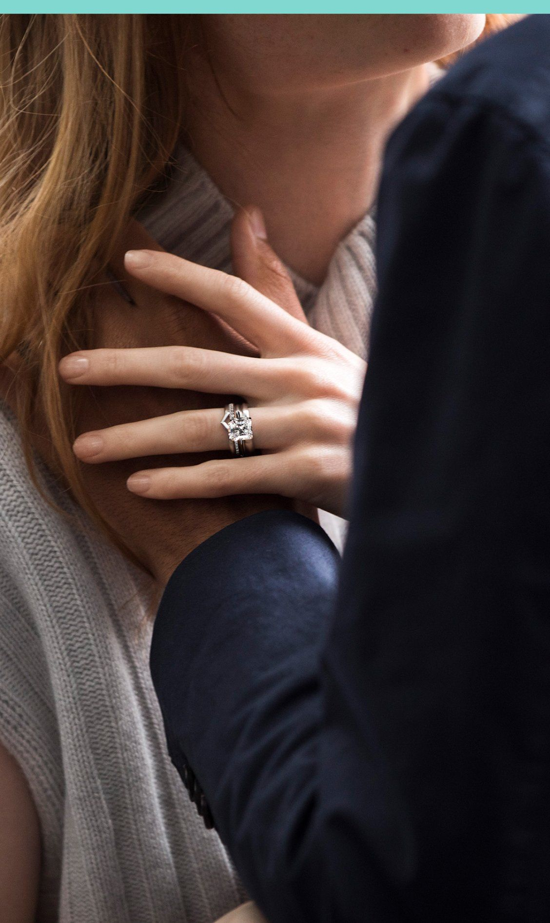b4db380cde4eaf The one you've been waiting for. Introducing Tiffany True—our first new engagement  ring design in nearly a decade, available in platinum and 18k gold.