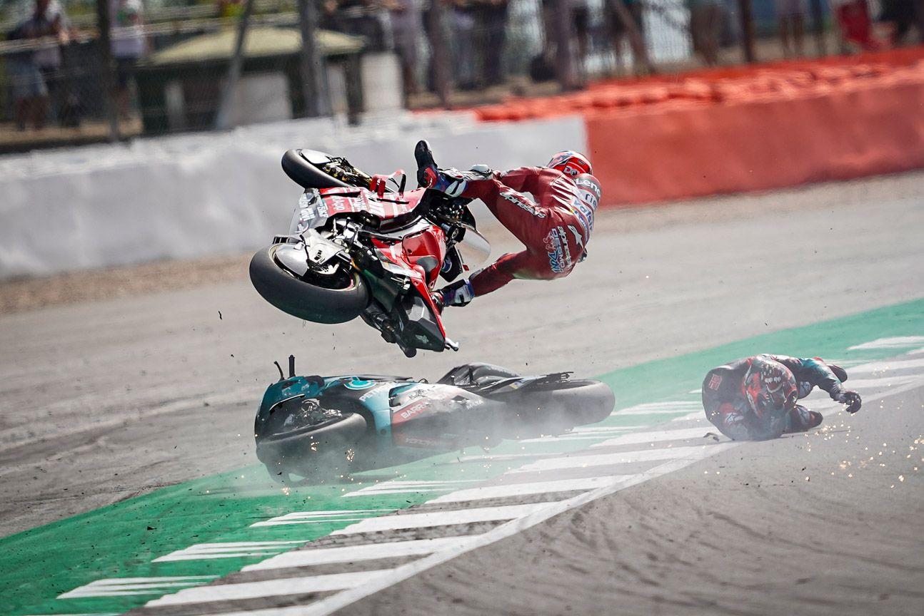 British MotoGP 7th for Danilo Petrucci Andrea Dovizioso