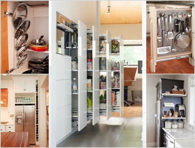 10 Clever Vertical Storage Ideas For Your Kitchen A