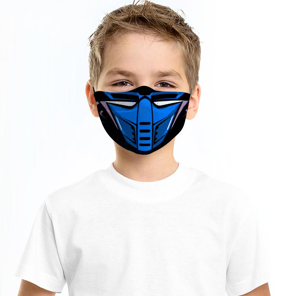Cyber Sub Zero Mortal Kombat Face Mask Customishop Anti Pollution Mask Face Mask Face
