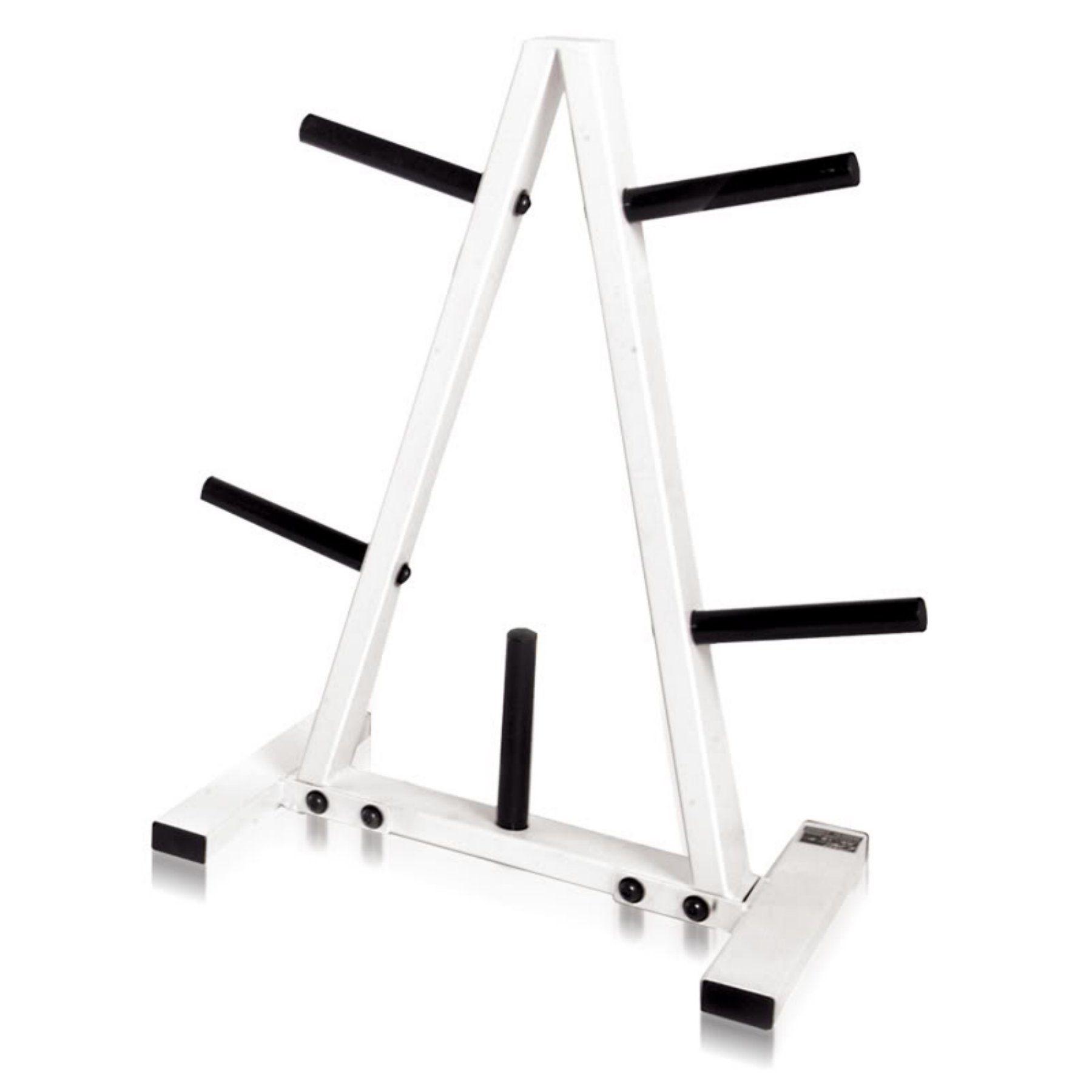 CAP Barbell Black/White 1 in. Plate Rack - RK-1B