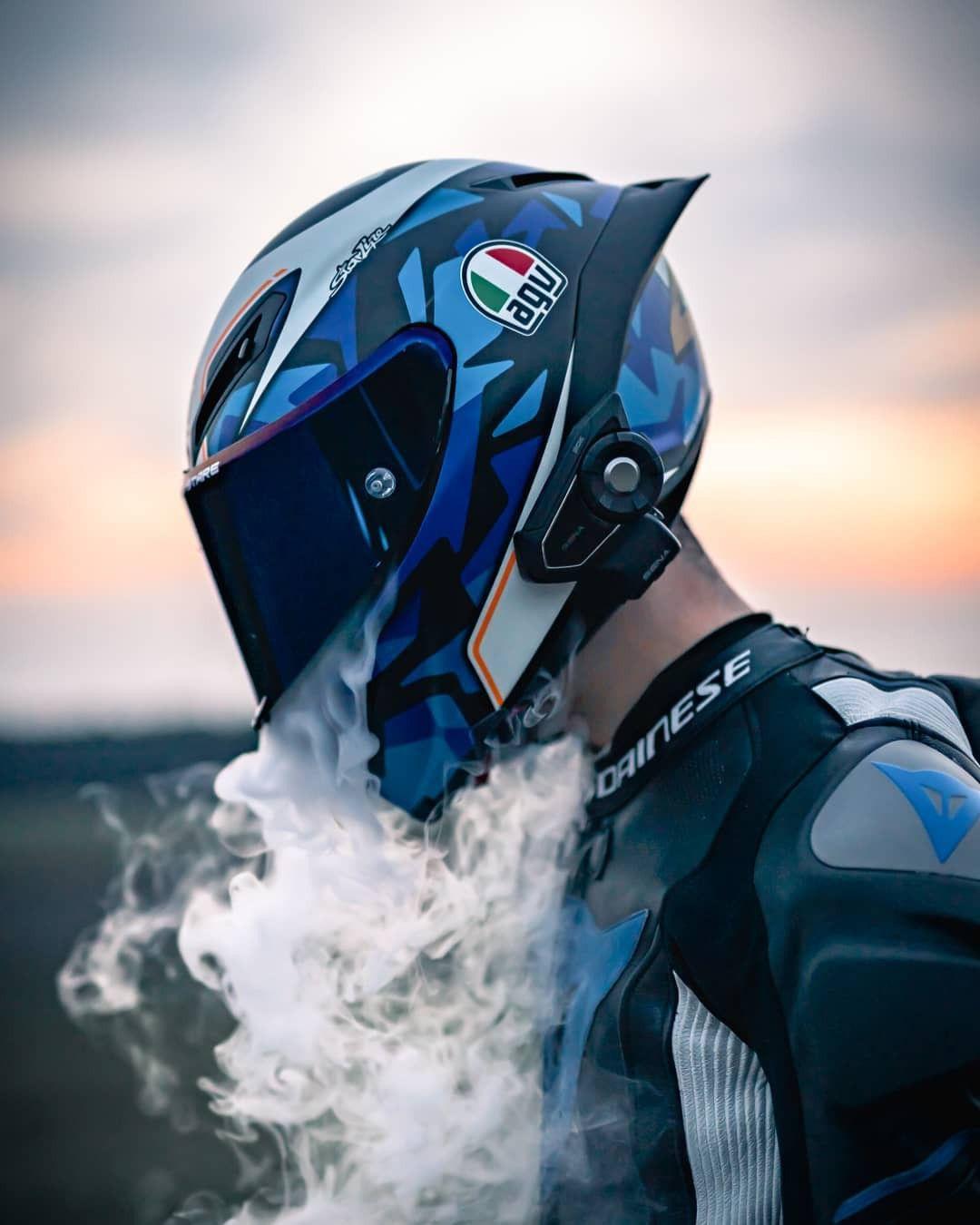 Smmmoke Bike Photoshoot Sport Bike Helmets Dirt Bike Riding Gear