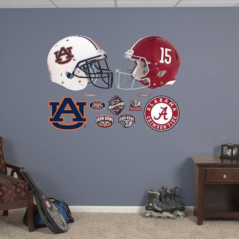Fathead Alabama Crimson Tide And Auburn Tigers Wall Decals Multicolor Auburn Tigers Alabama Crimson Tide Crimson Tide