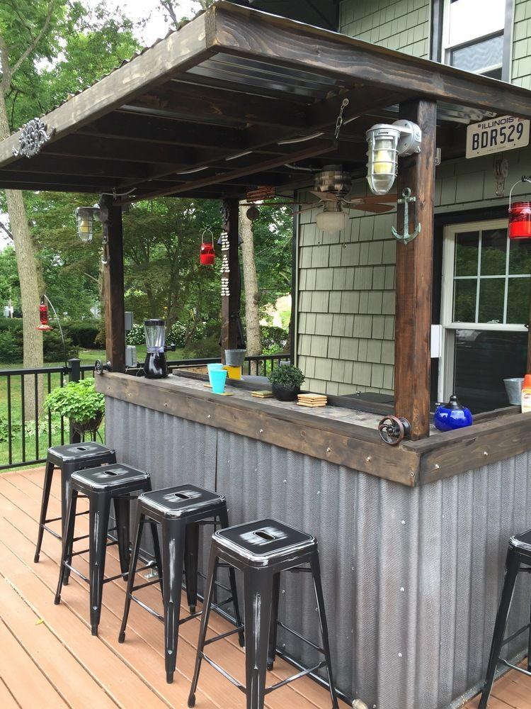 RYOBI NATION - Back deck bar