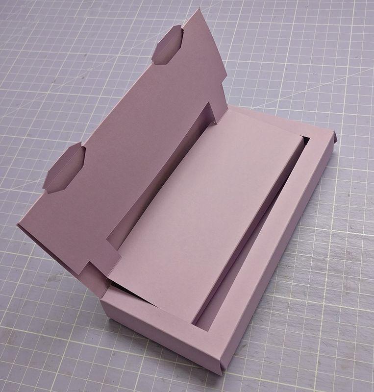 Gutschein-Hebe-Box mit Anleitung #konzertkartenverpacken