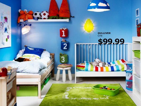 IKEA Kids Rooms Catalog Shows Vibrant and Ergonomic Design Ideas ...