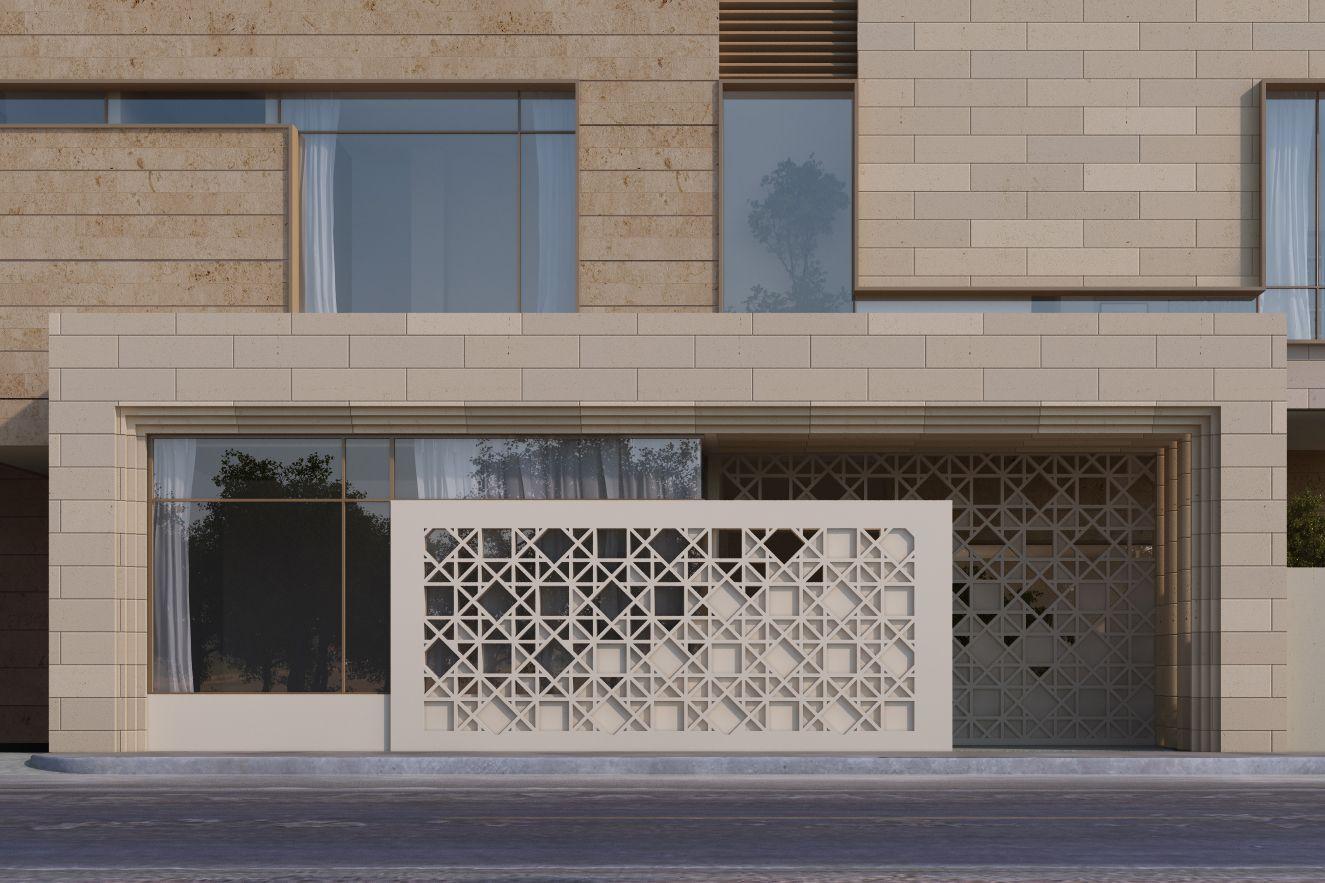 Great sarah sadeq architects with facciate case moderne for La migliore casa progetta lo stile indiano