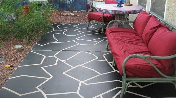 Painting A Patio