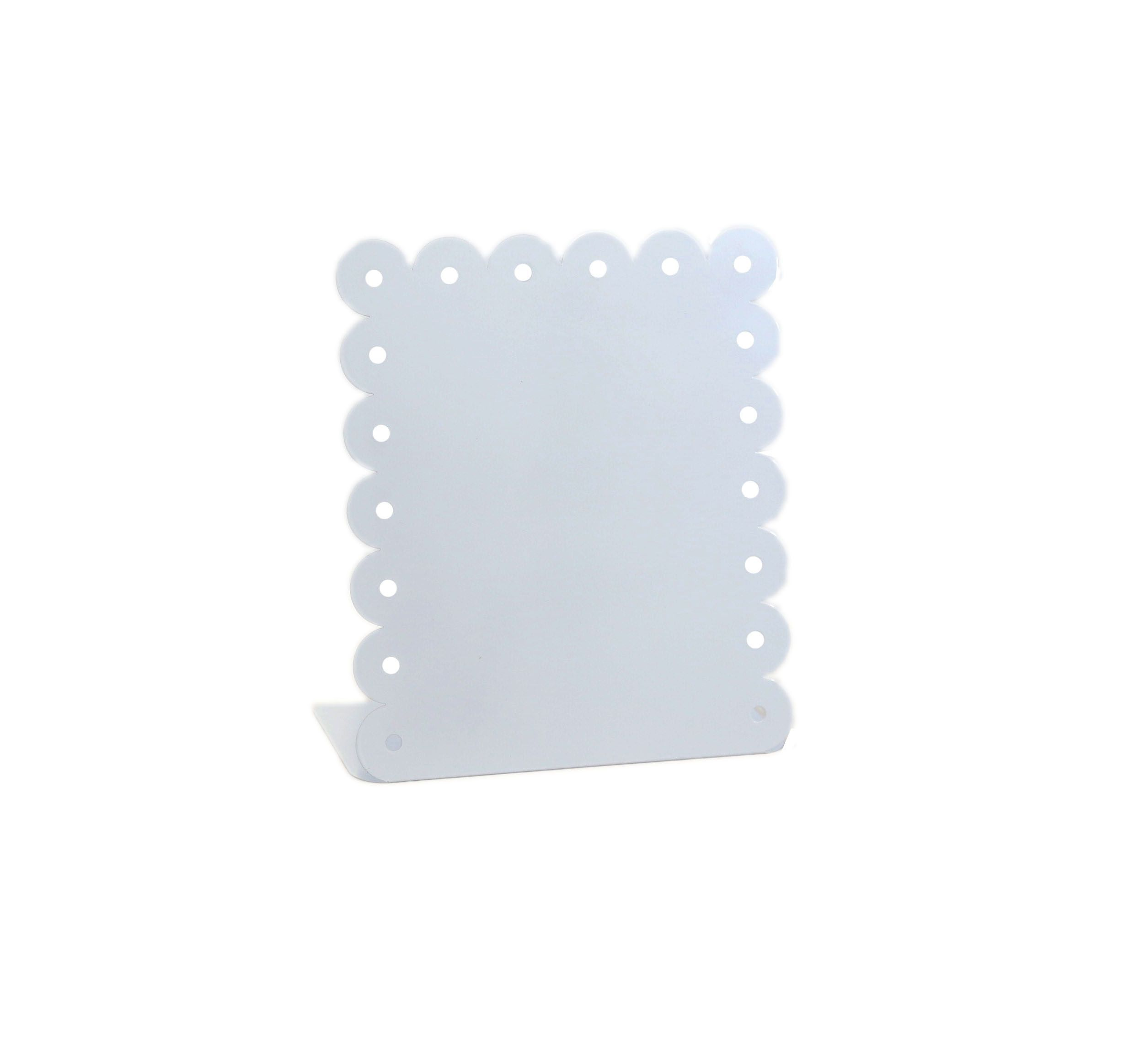 White Vertically Enamel Magnetic Picture Frame | Products, Magnetic ...