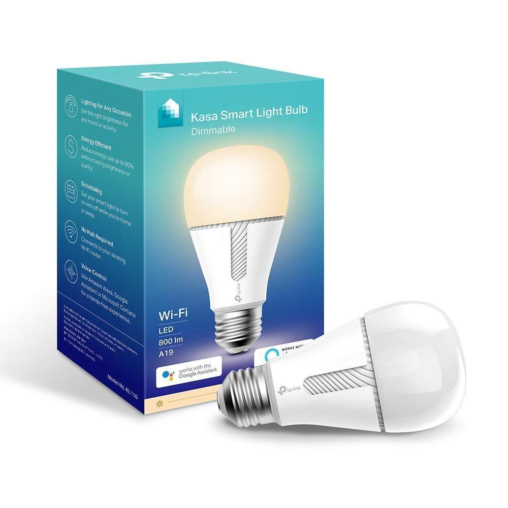 Kasa 60 Watt Equivalent 10 Watt A19 E26 Smart Led Light